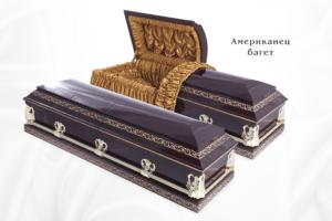 """Гроб элитный """"Американец"""" - багет"""