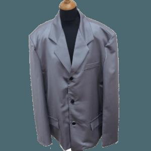 Серый костюм для похорон мужчины