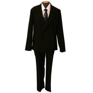 Чёрный костюм для похорон мужчины